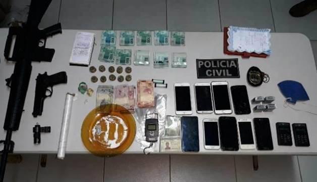 Imagens: Polícia Civil