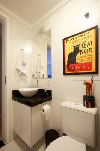 Aprenda Como Decorar Um Banheiro Pequeno Pictures to pin on Pinterest -> Decoracao De Banheiros Com Artesanato