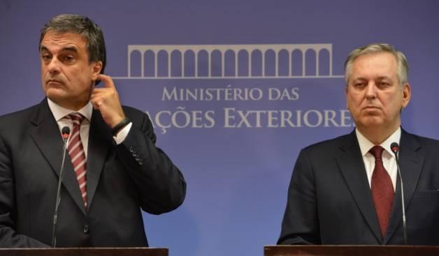 Cardozo (Justiça) e Figueiredo (Rel. Ext) falam da espionagem