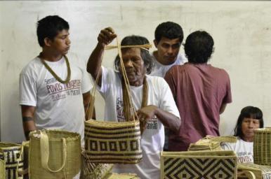 Cultura indígena é objeto de exposições no Centro de Criatividade Odylo Costa Filho
