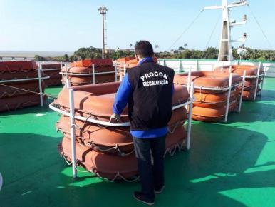 Procon/MA realiza fiscalização preventiva nos serviços de ferryboat