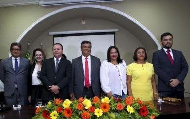Governador Flávio Dino dá posse a três novos secretários de Estado