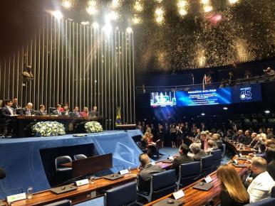 Congresso Nacional celebra 65 anos da Record TV
