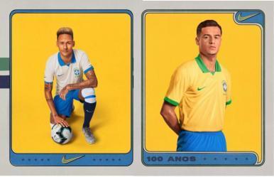 Seleção Brasileira apresenta novos uniformes para a disputa da Copa América