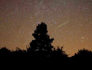 Chuva de meteoros são registradas nos países do Hemisfério Norte