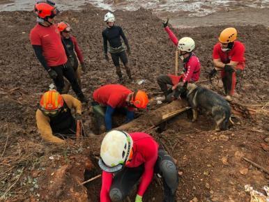 MA envia mais quatro bombeiros para auxiliarem nas buscas em Brumadinho