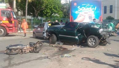 São Luís: mais de 4 acidentes de trânsito foram registrados nesta segunda (17)