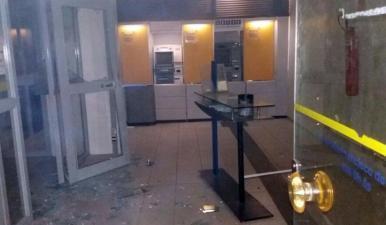 Agência bancária é alvo de bandidos em São Francisco do Maranhão