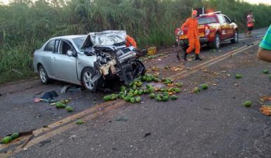 Colisão deixa motorista gravemente ferido em Imperatriz