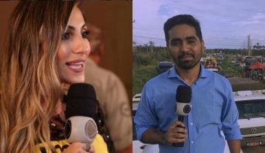 Apresentadora e repórter da TV Cidade concorrem a prêmio; vote