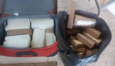 PRF apreende 25 kg de maconha com duas mulheres no MA