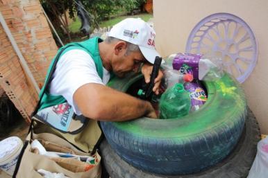 Governo alerta para cuidados e combate ao Aedes no período das férias