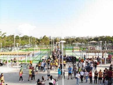 Parque do Rangedor é entregue em São Luís e já atrai milhares de pessoas