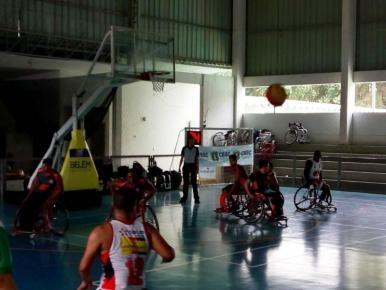 Maranhenses estreiam em campeonato brasileiro de basquete em cadeiras de rodas