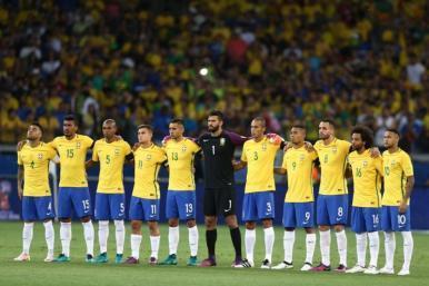 Brasil jogará de amarelo, azul e branco nesta quinta (31)