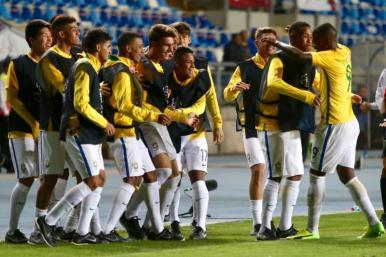 Seleção Sub-17 bate o Equador e assume liderança