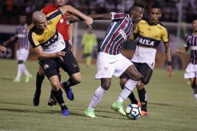 Fluminense derrota o Criciúma e conquista vaga na Copa do Brasil