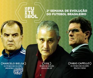 Personalidades do esporte se reúnem em mais uma edição do Somos Futebol