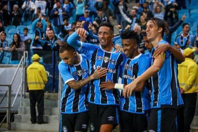 Grêmio e Palmeiras largam na frente no Brasileirão 2017