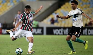 Fluminense e Coritiba empatam no Maracanã