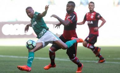 Palmeiras vence o Flamengo por 2 a 0 no Allianz Parque