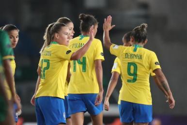 Brasil goleia a Bolívia por 7 a 0 pela Copa América Feminina