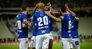 Cruzeiro vence o Ceará e pode terminar a rodada na vice-liderança