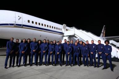 Seleção Brasileira desembarca em Sochi para a Copa do Mundo