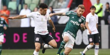 Palmeiras vence o Corinthians e mantém embalo no Brasileirão