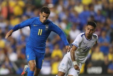 Seleção Brasileira goleia El Salvador por 5 a 0 nos EUA