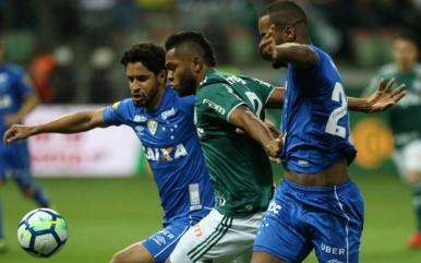 Com vantagem, Cruzeiro recebe Palmeiras pela Copa do Brasil