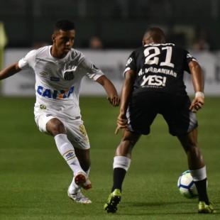 Santos e Vasco empatam em 1 a 1 no Pacaembu