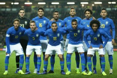 Futebol: Brasil segue na 3ªcolocação no ranking de seleções da FIFA