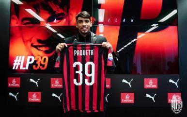 """Lucas Paquetá é apresentado no Milan: """"Aqui é o lugar certo para mim"""""""
