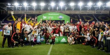 Flamengo derrota o Eintracht Frankfurt e conquista a Florida Cup