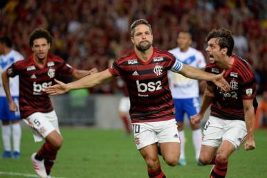 Flamengo goleia o San José e volta à liderança da Libertadores