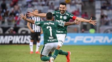 Palmeiras derrota o Atlético-MG e assume a liderança do Brasileirão