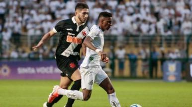 Santos vence o Vasco e pula para a vice-liderança do Brasileirão