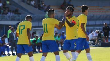 Seleção Olímpica goleia a Guatemala pelo Torneio Maurice Revello
