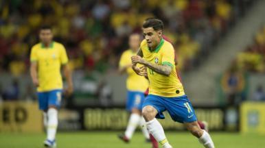 Brasil vence o Catar por 2 a 0 em amistoso no Mané Garrincha