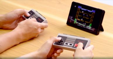 Games: Nintendo Switch terá controles do NES