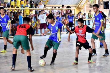 Festival Esportivo movimenta fim de semana da rede municipal de ensino