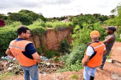 Defesa Civil monitora áreas de risco de São Luís sob constante monitoramento