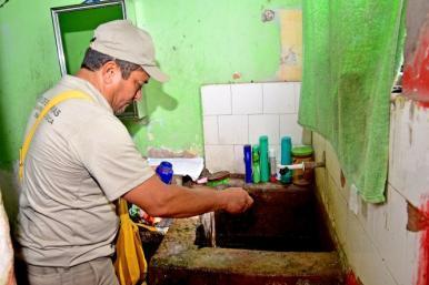 São Luís intensifica ação de combate ao Aedes aegypti com visitas domiciliares
