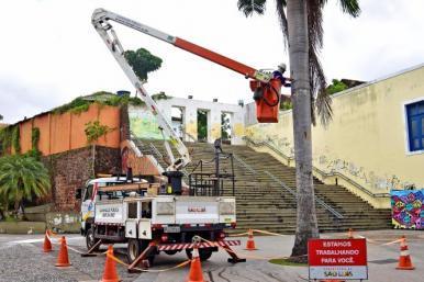São Luís terá iluminação reforçada no circuito pré-carnavalesco