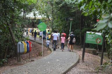 Crianças da Casa de Passagem têm tarde de lazer no Parque Botânico da Vale