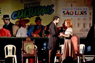 """""""O Mulato"""" encanta Sarau Histórico em mais uma noite do Férias Culturais"""