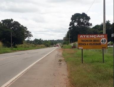 Tráfego é liberado na BR 135 entre Dom Pedro e Presidente Dutra