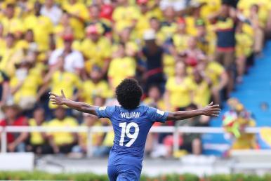 Seleção Brasileira empata em 1 a 1 com a Colômbia