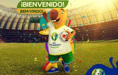 Capivara é escolhida como mascote da Copa América no Brasil
